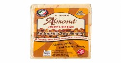 Almond Cheese, Jalapeno Jack