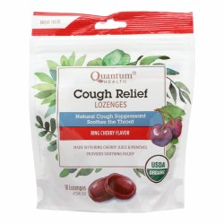 Cherry Cough Relief Lozenges, Organic