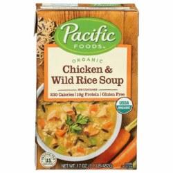 Chicken & Wild Rice Soup, Organic