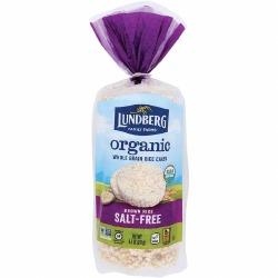 Brown Rice Cakes, Organic, No Salt