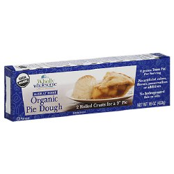 Organic Rolled Pie Dough