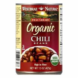 Fat Free Chili Beans, Organic
