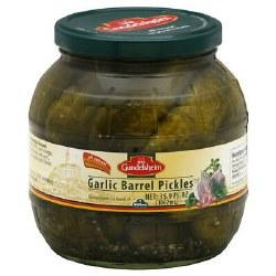 Garlic Barrel Pickles
