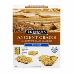 Ancient Grain Crackers, Sea Salt