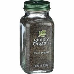 Black Pepper, Organic