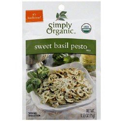 Basil Pesto Mix, Organic