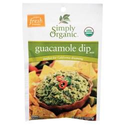 Guacamole Dip Mix, Organic