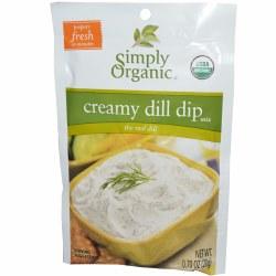 Creamy Dill Dip, Organic