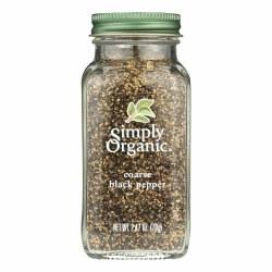 Coarse Black Pepper, Organic