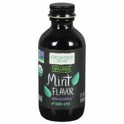 Mint Flavor, Organic      .