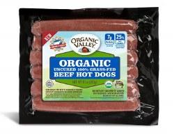 Grassfed Beef Hot Dogs, Organic