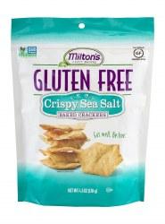 GF Baked Sea Salt Crackers