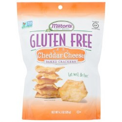 Gf Baked Cheddar Crackers
