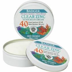 Clear Zinc Sunscreen Tin SPF40