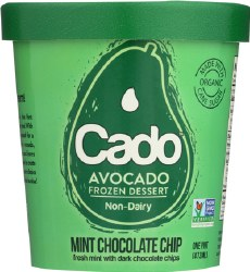 Mint Chocolate Chip Avocado Ice Cream
