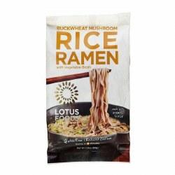 Buckwheat Mushroom Rice Ramen