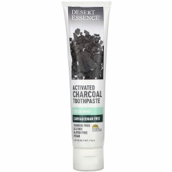 Activated Charcoal Toothpaste, Mint