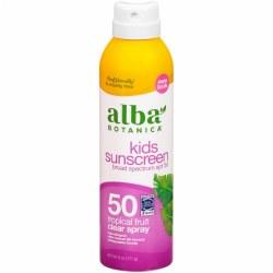 Kid's Spray Sunscreen, SPF 50, Tropical