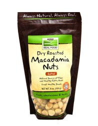Dry-Roasted Macadamia Nuts