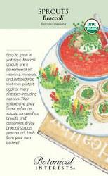 Broccoli Seeds, Organic