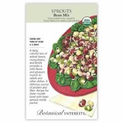 Bean Mix Seeds, Organic