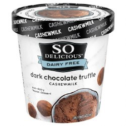 Dark Chocolate Truffle Dessert
