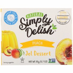 Jel Dessert, Peach