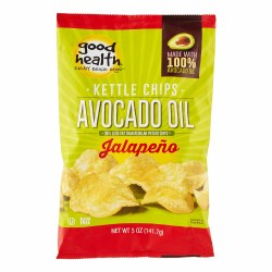 Avocado Oil Jalepeno Chips