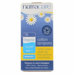 Super Tampons with Applicator, Organic