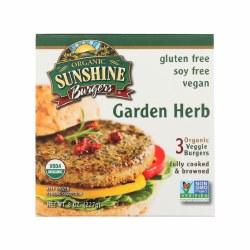 Garden Herb Burger