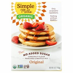 Chestnut Flour Pancake Mix, Organic, No Sugar Added