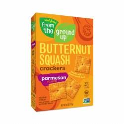 Butternut Squash Crkrs, Parm