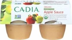 Apple Sauce, Unsweetened, Org