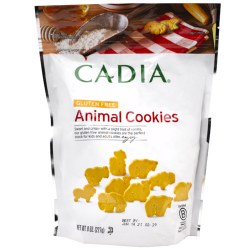GF Animal Cookies