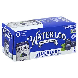 Blueberry Sparkling Water
