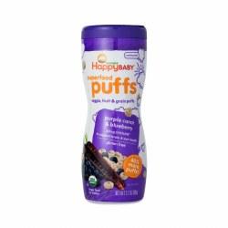 Organic Purple Carrot Blueberry Puffs