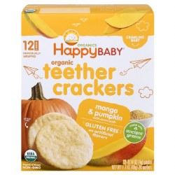 Organic Teether Crackers, Mango Pumpki