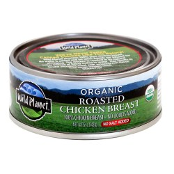 Organic Roasted Chicken Breast, No Salt