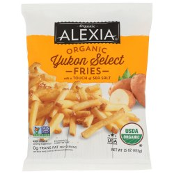 Organic Yukon Gold Fries