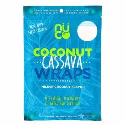 Coconut Cassava Wraps