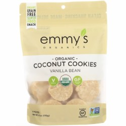Coconut Cookies, Organic