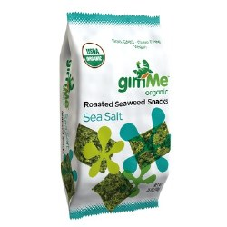 Organic Seaweed Snack, Roasted Seaweed