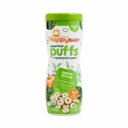 Organic Apple Broccoli Puffs