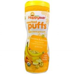 Organic Banana Pumpkin Puffs