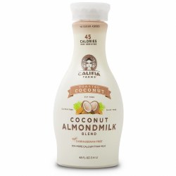 Almond Milk, Toasted Coconut