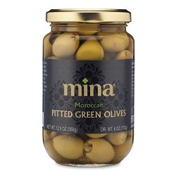 Green Moroccan Olives