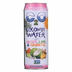 Coconut Water, Ginger Lime Turmeric