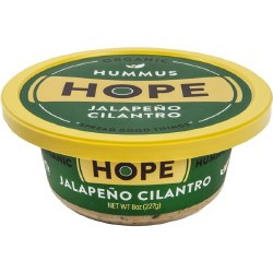 Jalepeno Cilantro Hummus, Organic