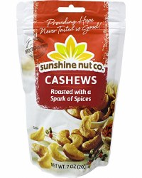 Cashews, Roasted, Spark of Spice