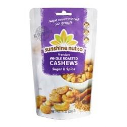 Cashews, Roasted, Sugar & Spice